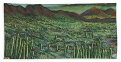 Westward Hand Towel by Johnathan Harris
