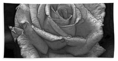 Wet Rose Bath Towel