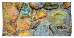 Wet Stones Bath Towel
