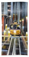 Wet Tram California Bath Towel