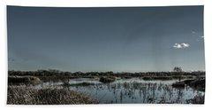 Wetlands Desaturated  Hand Towel