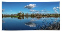 Wetlands Panorama  Bath Towel