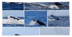 Whale Action Bath Towel
