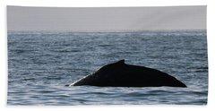 Whale Fin Bath Towel