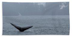 Whale Fluke Bath Towel