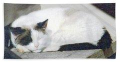 What Do Cats Dream Of #2 Bath Towel
