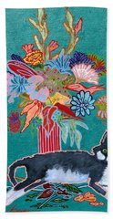 What Flowers Hand Towel