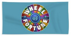 Wheel Of Fortune T-shirt Bath Towel