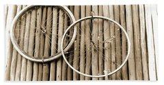 Wheels On Bamboo Bath Towel