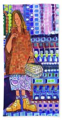 When I Was Cool Hand Towel by Donna Howard