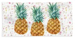 When Life Gives You Pineapple Make A Pina Colada Hand Towel