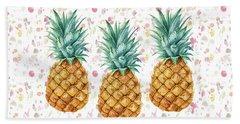 When Life Gives You Pineapple Make A Pina Colada Bath Towel