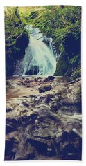 Where It All Begins Hand Towel by Laurie Search