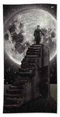Where The Moon Rise Hand Towel