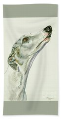 Whippet Hand Towel