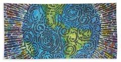 Whirled Piece Hand Towel