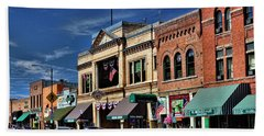 Whiskey Row - Prescott  Hand Towel