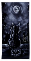 Whispering To The Moon Hand Towel