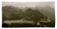 Whispers In The Andes Mountains Bath Towel