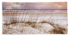 Bath Towel featuring the photograph Whispers In The Dunes by Debra and Dave Vanderlaan