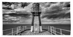 Whitby Pier Bath Towel