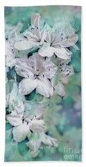 White Azaleas Hand Towel