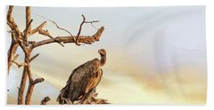 White-backed Vulture Hand Towel