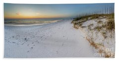 White Beaches Of Cape San Blas Bath Towel