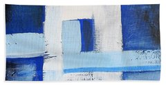 White Cross Hand Towel