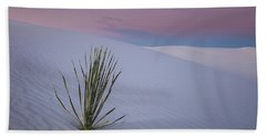 Bath Towel featuring the photograph White Dunes by Edgars Erglis