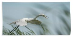 White Egret 2016-2 Hand Towel