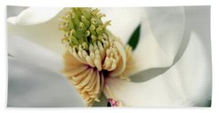 Hand Towel featuring the photograph Magnolia Blossom by Meta Gatschenberger