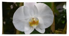 Phalaenopsis Sanderiana Bath Towel