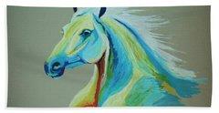 White Horse Hand Towel