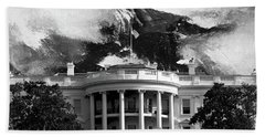White House 002 Hand Towel by Gull G