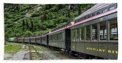 White Pass And Yukon Railway Bath Towel