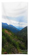 White Pass Rail Road Hand Towel