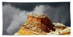 Bath Towel featuring the photograph White Pocket 35 by Bob Christopher