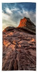 White Pocket Inside Vermillion Cliffs National Monument Hand Towel