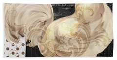 White Rooster Cafe I Hand Towel by Mindy Sommers