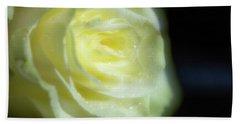 White Rose 4 Soft Hand Towel