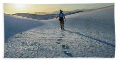 White Sands Hiker Hand Towel
