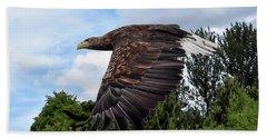 White Tailed Eagle Bath Towel