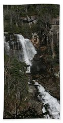 Whitewater Falls Hand Towel by Cathy Harper