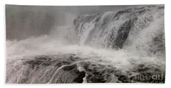 Bath Towel featuring the photograph White Water by Raymond Earley