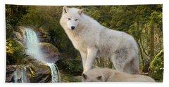 White Wolf Falls2 Hand Towel
