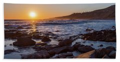 White's Point Sunset Bath Towel