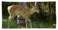 Whitetail Fawn Hand Towel