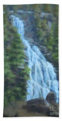 Whitewater Falls I Bath Towel