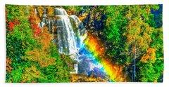 Whitewater Rainbow Hand Towel